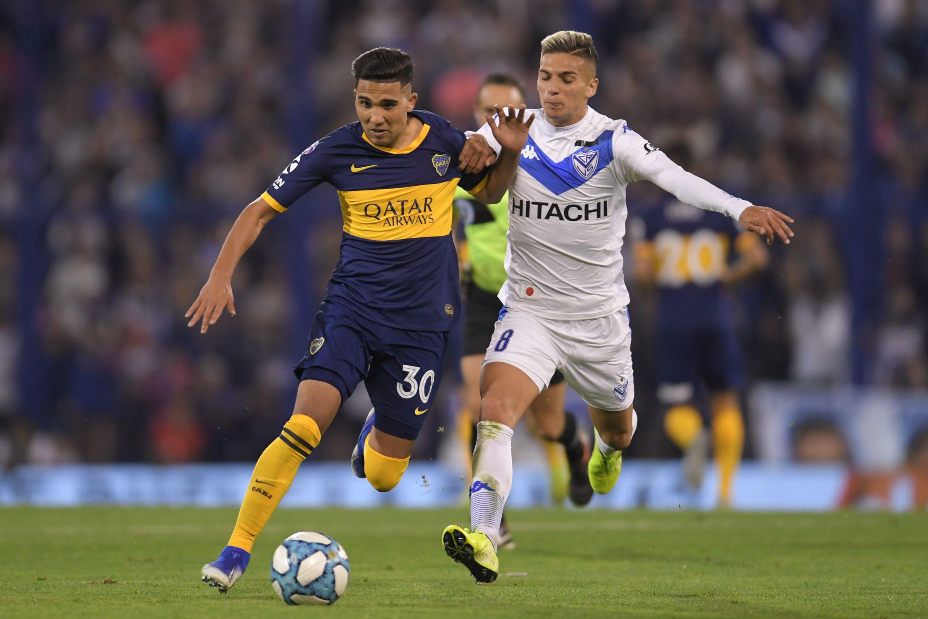 Boca empató con Vélez en Liniers y es puntero con Argentinos y Lanús