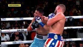 VIDEO: el KO del invicto Billy Joe Saunders al argentino Cóceres