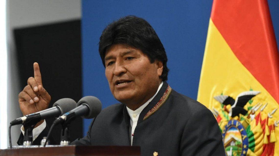 Golpe en marcha en Bolivia: el jefe de las Fuerzas Armadas pidió la renuncia de Evo Morales