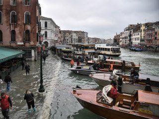 devastacion apocaliptica: el 80 por ciento de venecia esta bajo el agua