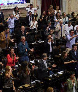 Proclamaron como presidente y vicepresidenta a Alberto Fernández y Cristina Kirchner
