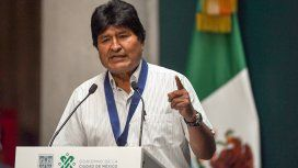 Evo denunció 24 muertes en 5 días por la represión: Son delitos de lesa humanidad