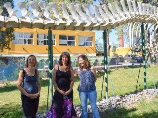 De izquierda a derecha: Natalia Pessacg, Ana Liberoff y Silvia Flaherty