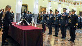 Jeanine Añez removió la cúpula militar
