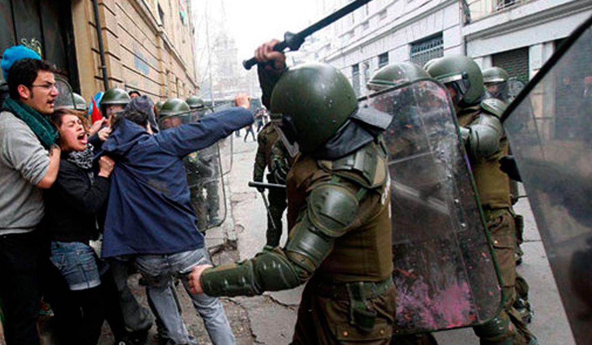 Chile: el vocero de Carabineros negó que haya represión