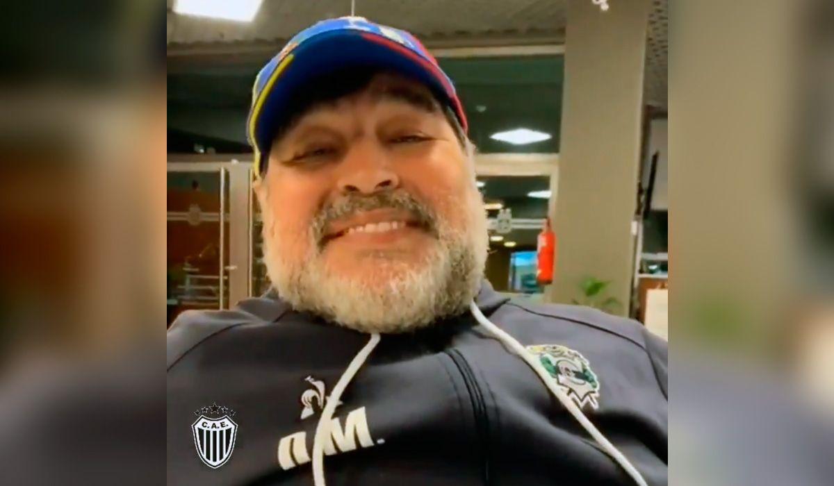 El video de Maradona para Estudiantes de Buenos Aires antes de enfrentar a River: No son ningunos cucos
