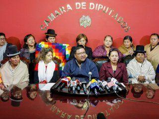 legisladores del mas se instalaron en la asamblea de bolivia e iniciaron una huelga de hambre