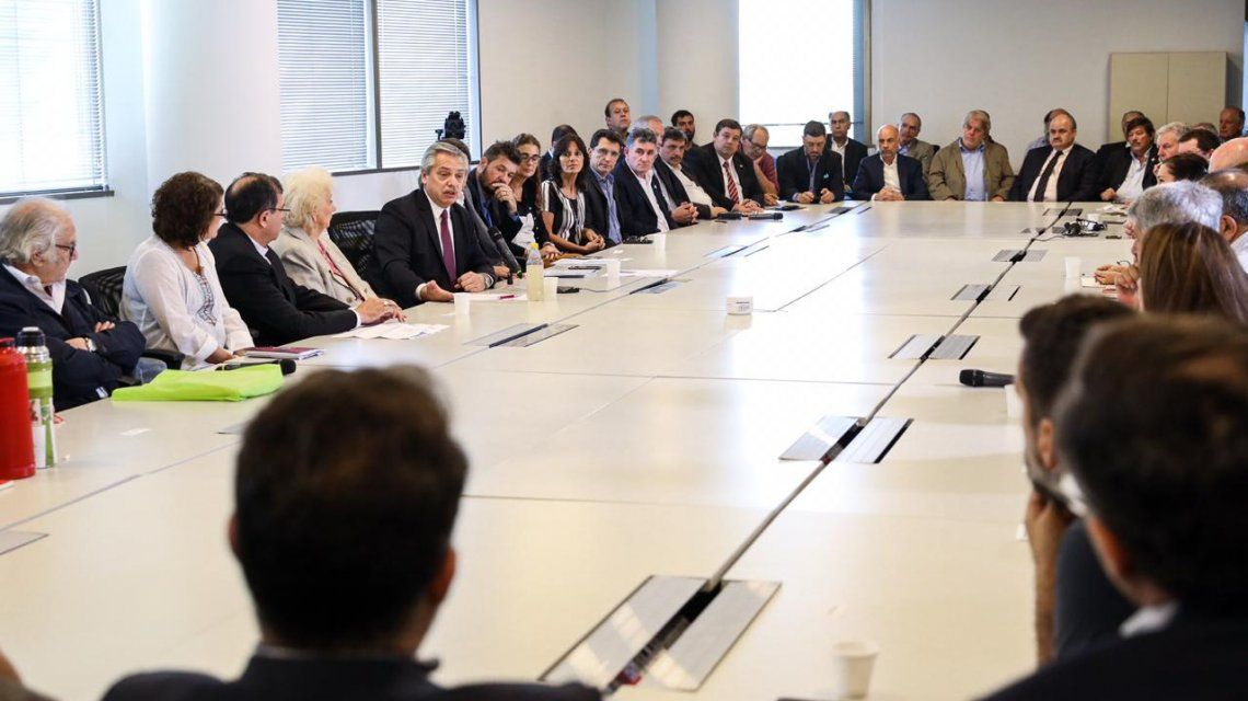 Alberto Fernández encabeza la primera reunión del Consejo contra el Hambre