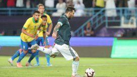 Con un gol de Messi en su regreso, Argentina se quedó con el clásico ante Brasil