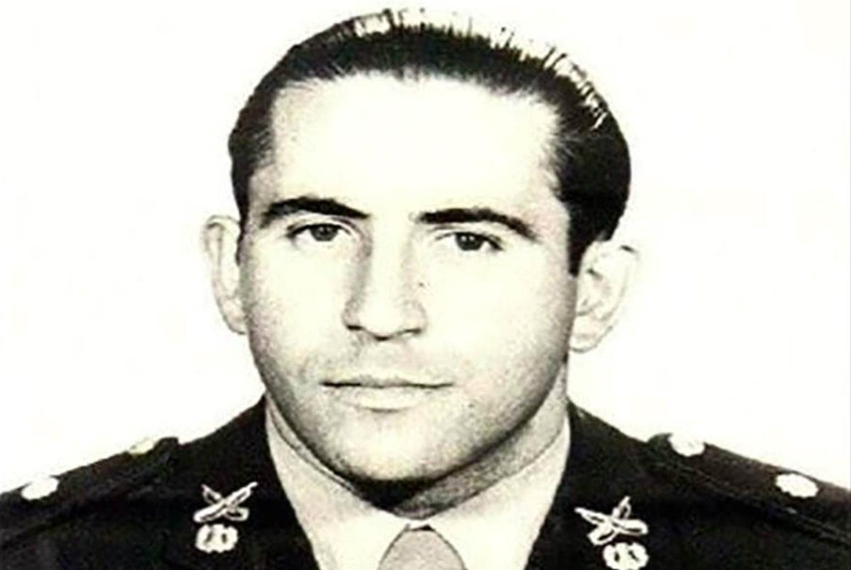 Juan Domingo Baldini recibió post mortem el rango de teniente
