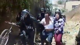 Denuncian torturas y detenciones de campesinos en marchas contra el Golpe en Bolivia