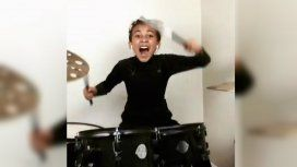 La reina del rock: una nena de 9 años sorprendió con su interpretación de Nirvana