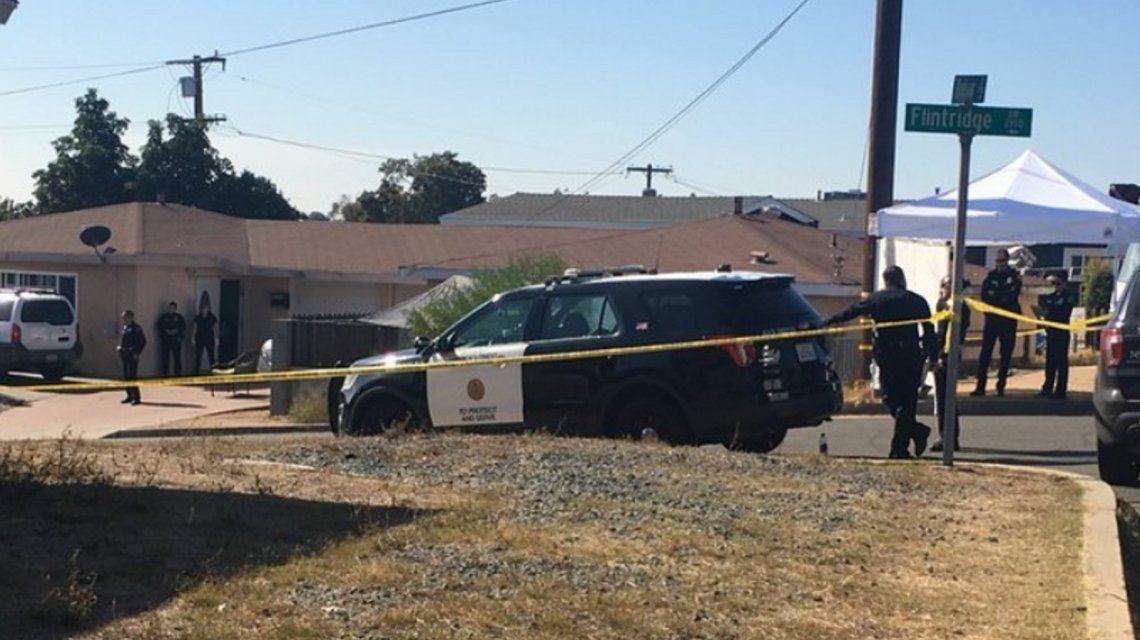 Tiroteo y tragedia en San Diego: murieron cinco personas, entre ellos tres niños - Minutouno.com