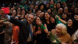 En el Día Mundial contra la Violencia Machista, Alberto renovó su compromiso con las mujeres