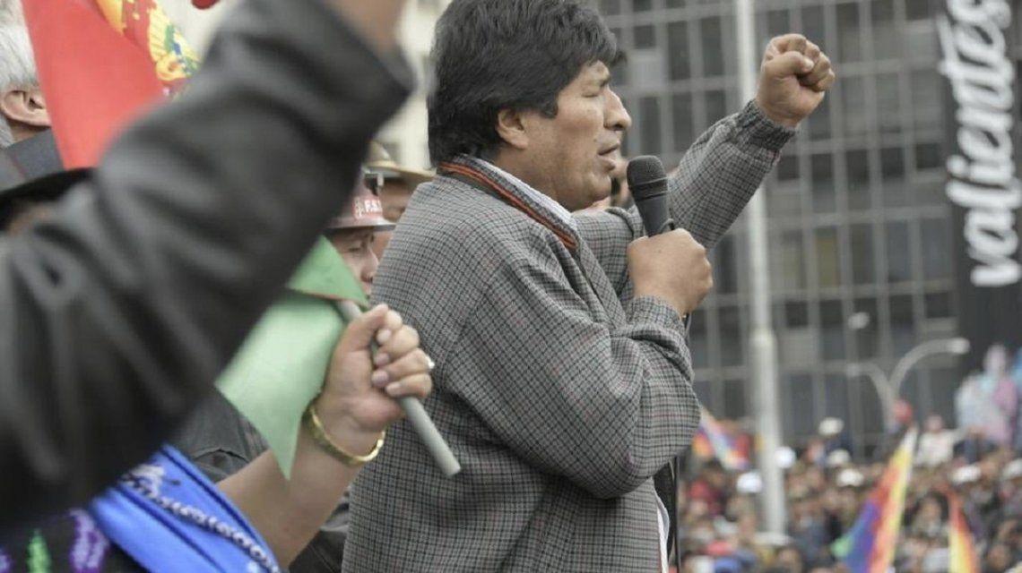 Guiño de Evo Morales a una mediación de la Unión Europea o de Pepe Mujica - Minutouno.com