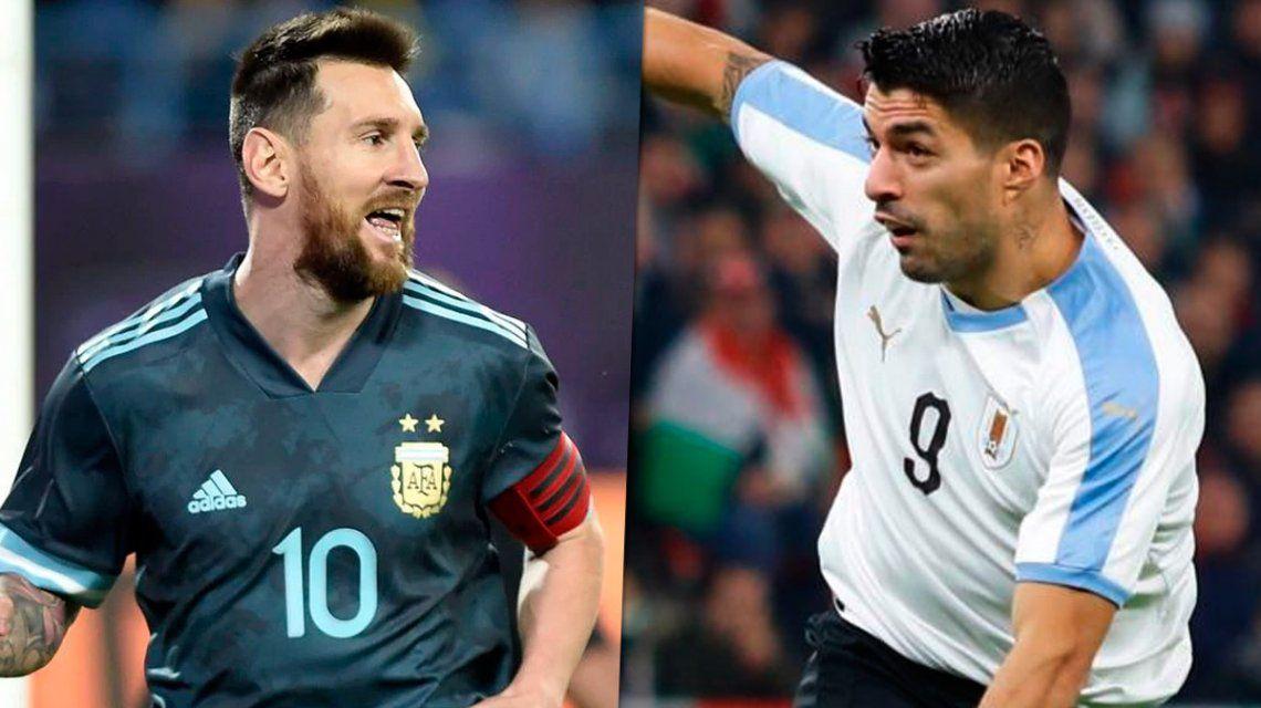 Amistoso Argentina vs. Uruguay en Israel: horario, formaciones y TV