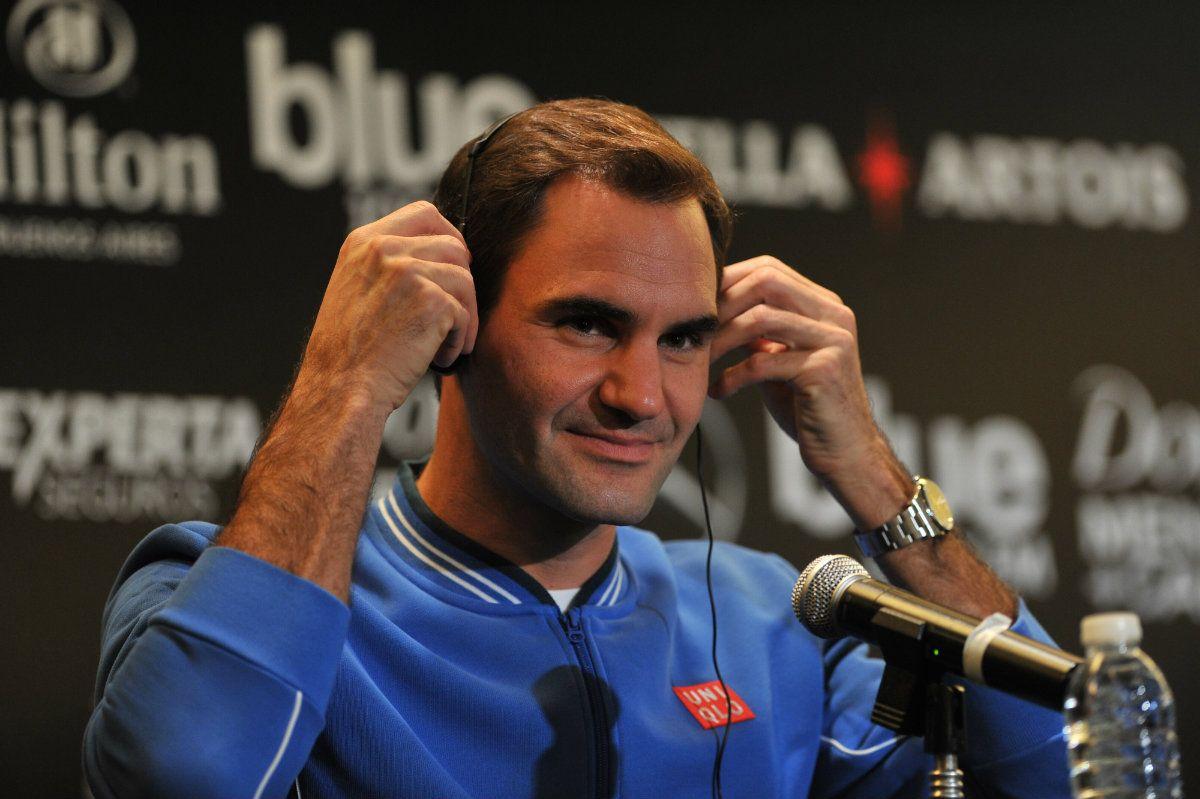 Roger Federer en Buenos Aires: Me hubiera gustado tener la derecha de Del Potro