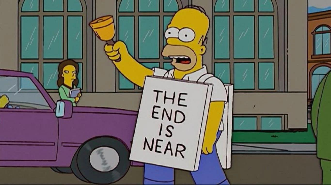 Homero Simpson protagoniza los memes una vez más