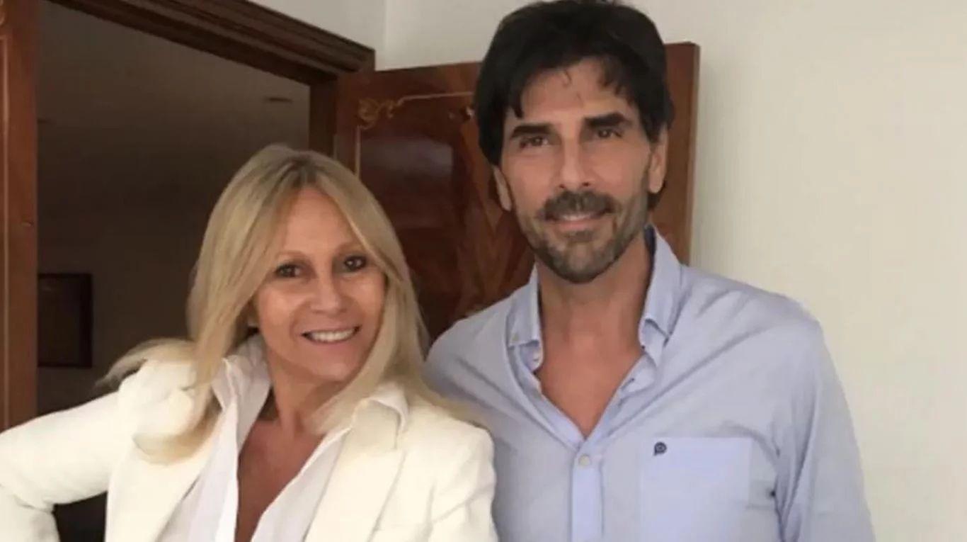 Ana Rosenfeld y Juan Darthés