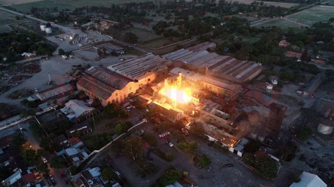 Una fuerte explosión en La Esperanza sacudió a la localidad de San Pedro