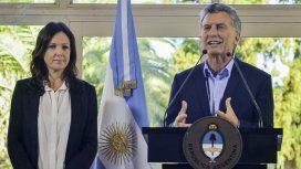 Carolina Stanley y Mauricio Macri