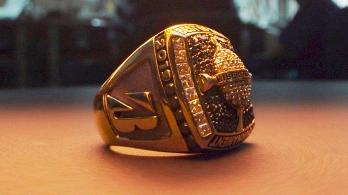 El fastuoso anillo que se llevará el mejor jugador de la final de la Copa Libertadores y un detalle insólito