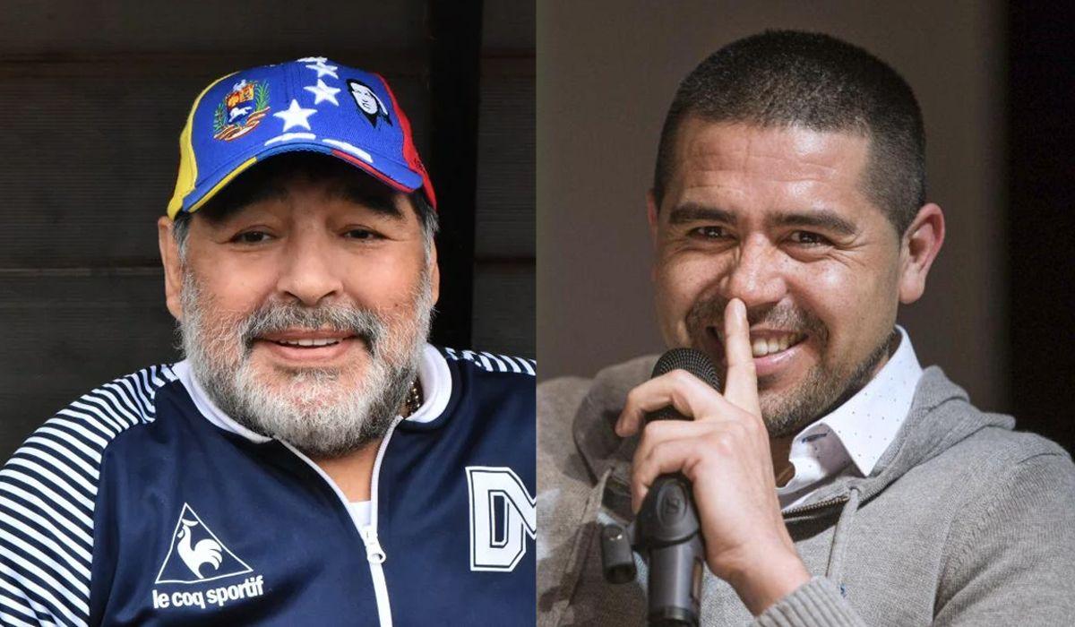 Elecciones en Boca: Maradona apoyó a Angelici y destrozó a Riquelme
