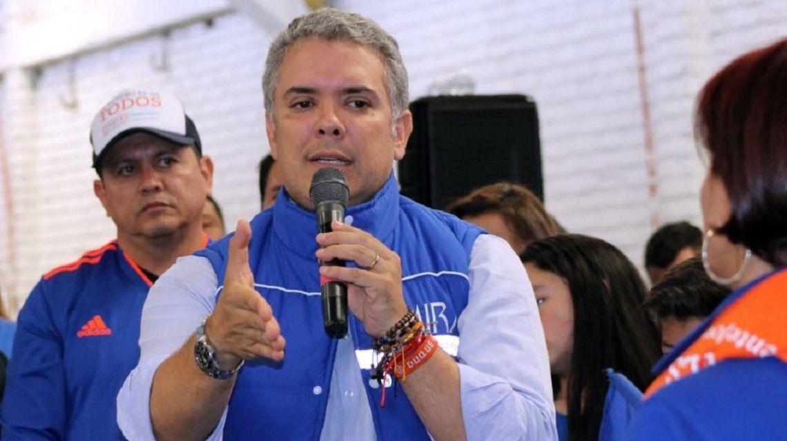El presidente Iván Duque