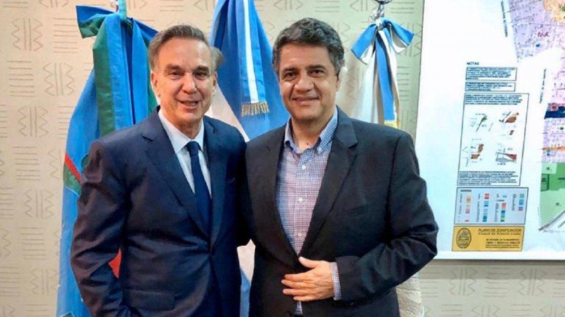 Miguel Ángel Pichetto y Jorge Macri