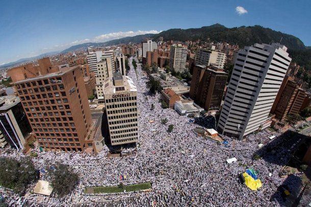 La protesta del 21 de noviembre fue una de las marchas más masivas en Colombia. Foto: El Espectador