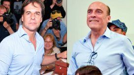 Balotaje en Uruguay: con leve diferencia entre Lacalle y Martínez