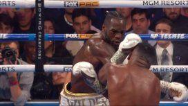 Boxeo: el brutal KO de Wilder ante Ortiz
