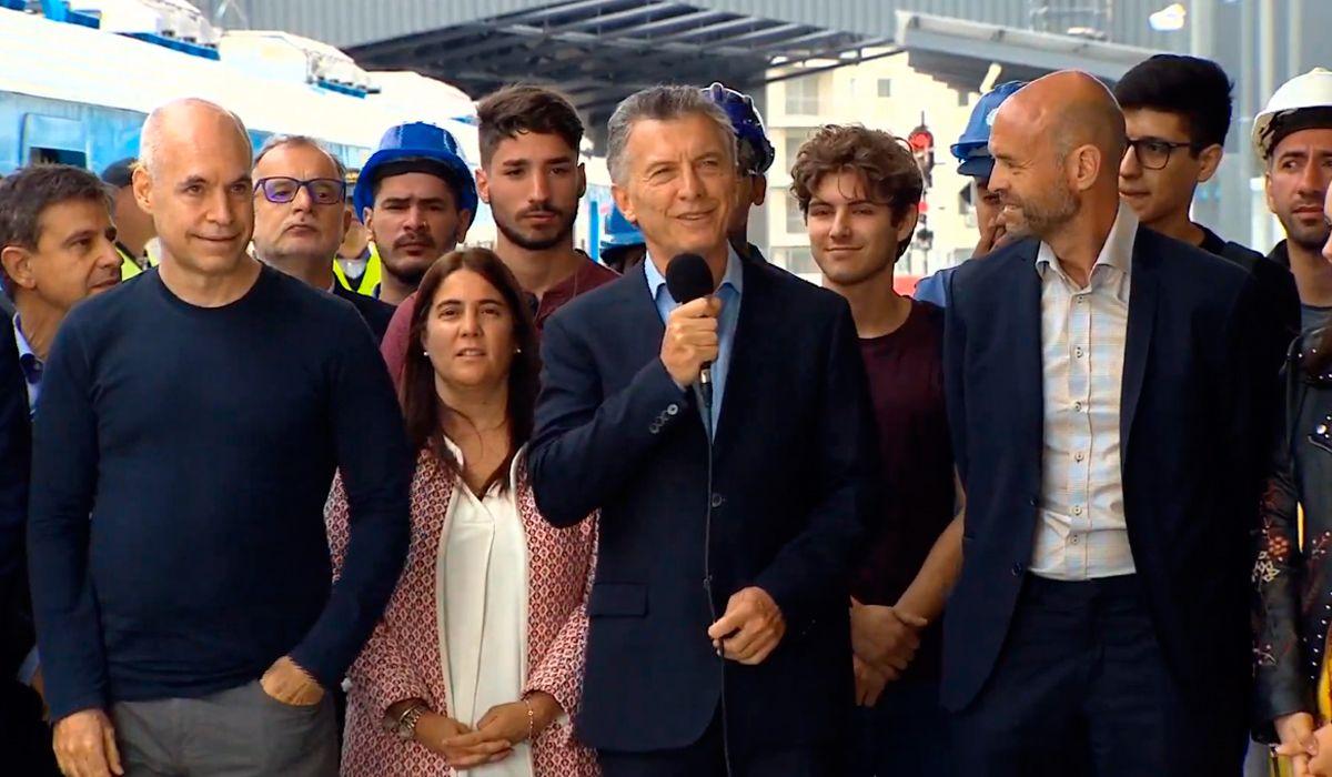 Macri: Seguiré aportando desde una oposición constructiva