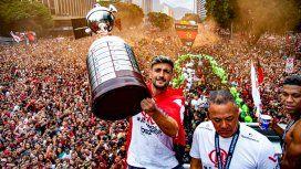 Un día después de ganarle la Copa Libertadores a River