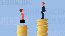 Las mujeres cobran 9% menos que los hombres en la administración pública