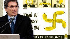 Avruj repudió al humorista gráfico que comparó a la marcha de Macri con el nazismo