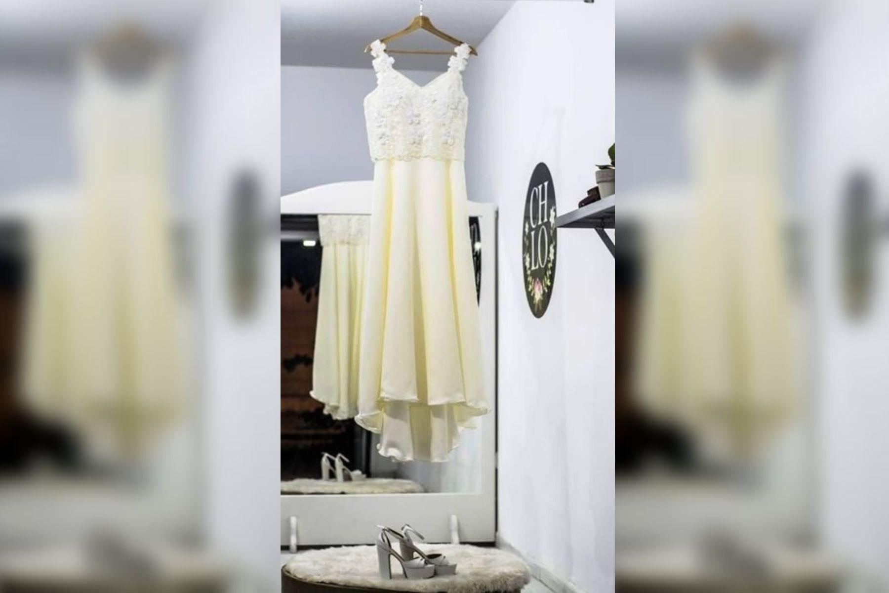 Llevó su vestido de novia a la tintorería, pero le devolvieron otro y ahora busca el original