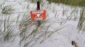 Quedan unas 15 mil minas enterradas en Malvinas