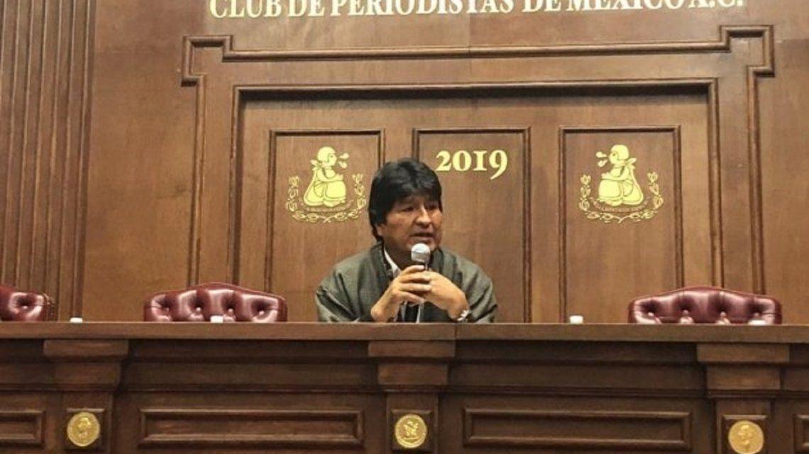 Evo Morales denunció que Interpol lo persigue en 10 países por terrorismo