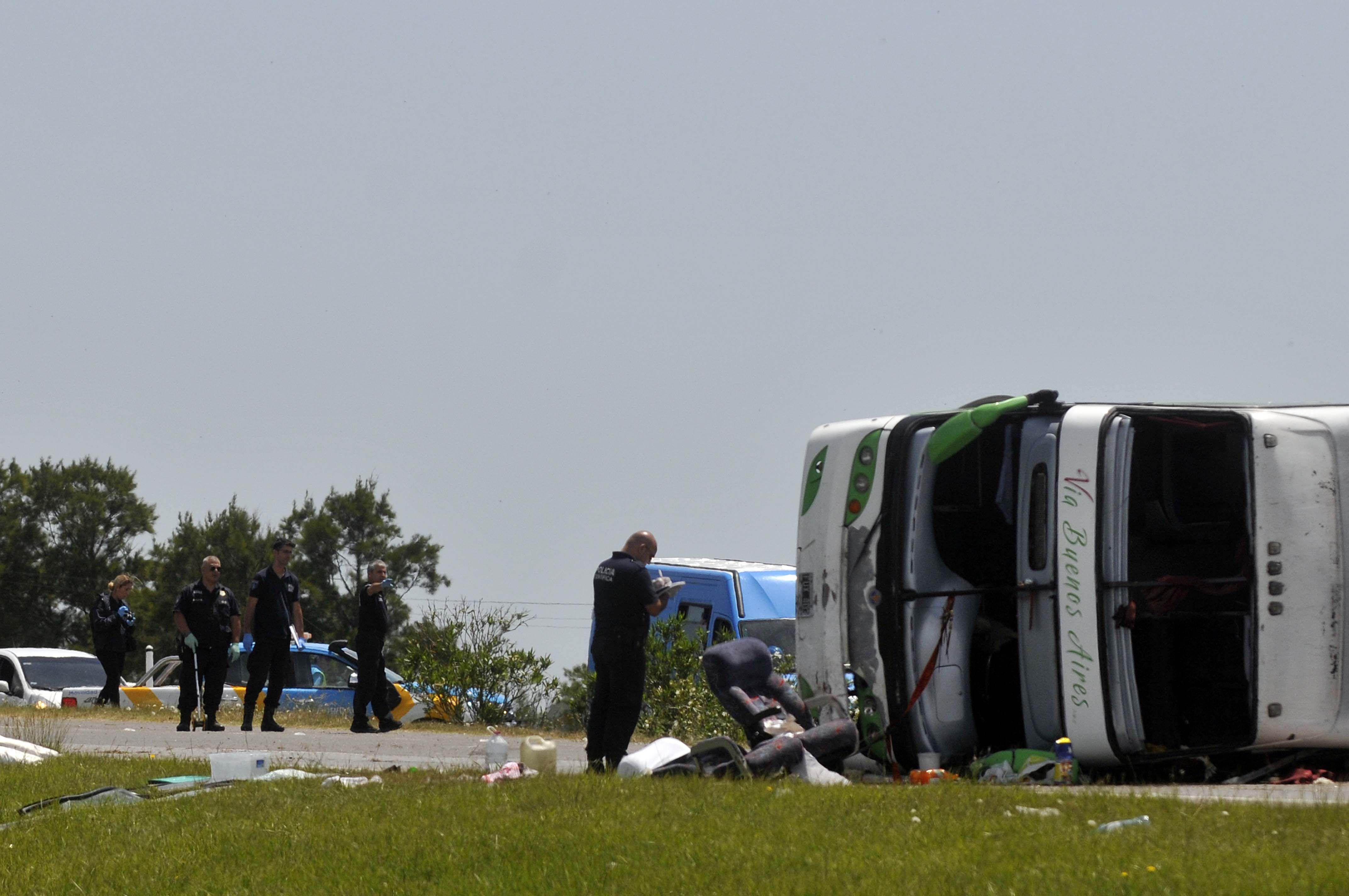 En el hecho murieron dos niñas y varios menores resultaron heridos