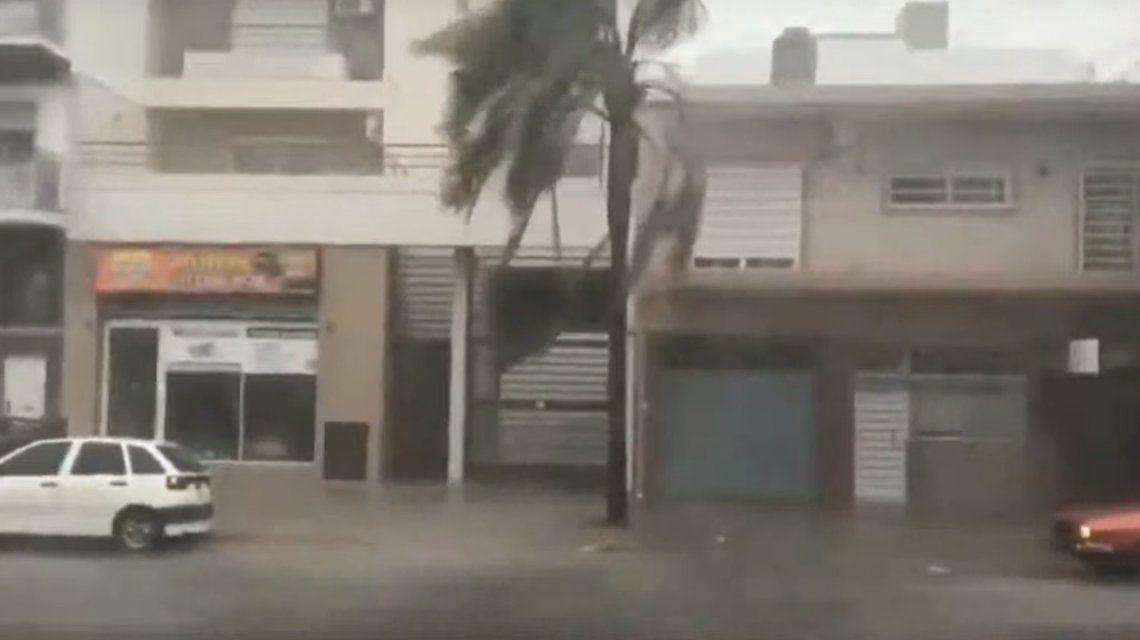 La tormenta en Quilmes