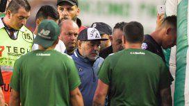 Maradona: El árbitro Espinoza es un mentiroso y cobarde