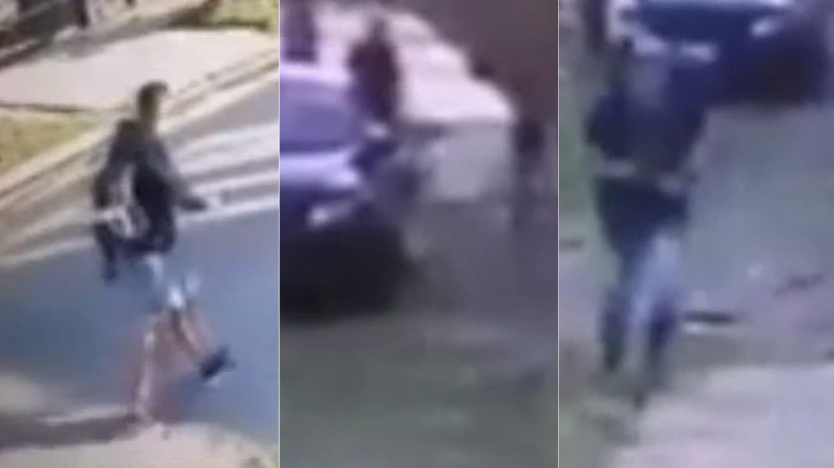 VIDEO: Asaltaron y balearon a un joven mientras iba al trabajo