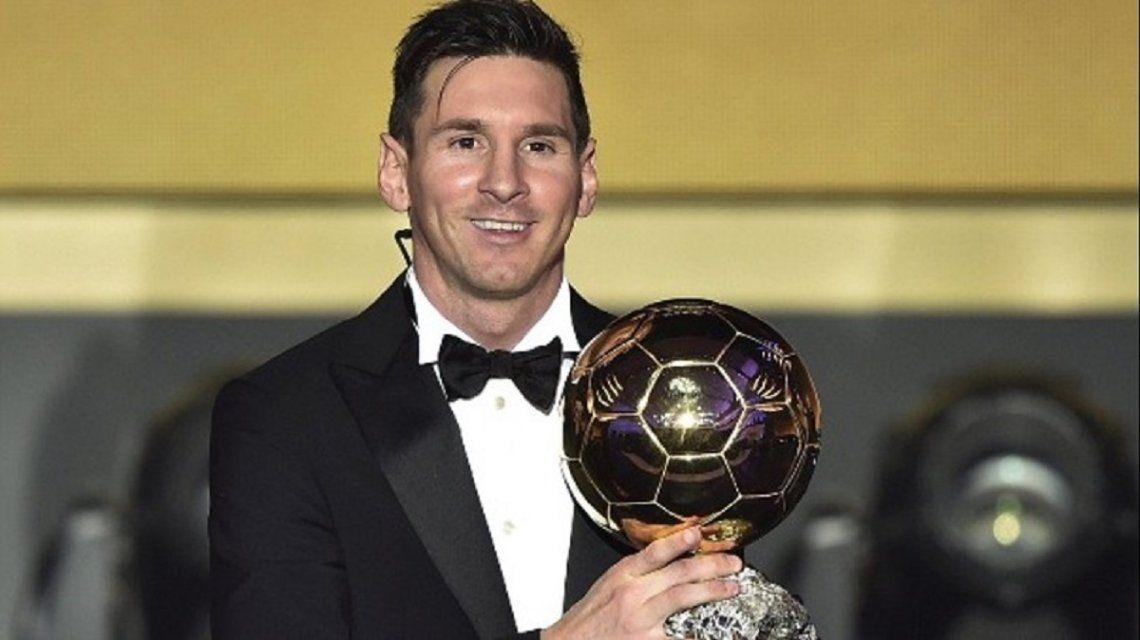 Messi, el gran favorito a lograr su sexto Balón de Oro