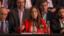 Vidal presentó el balance de su gestión: aseguró que deja menos deuda y menor déficit