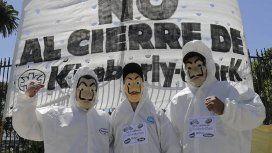 Quilmes: desalojaron a los trabajadores que ocupaban la planta de Kimberly Clark