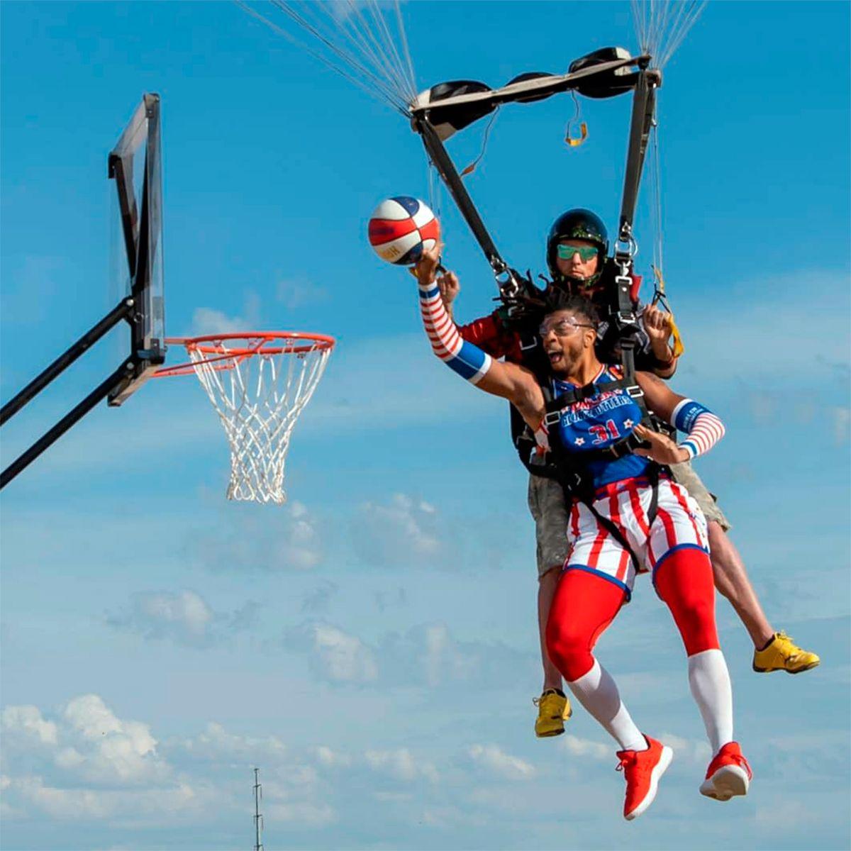 Los Harlem Globetrotters y la volcada más impresionante de la historia