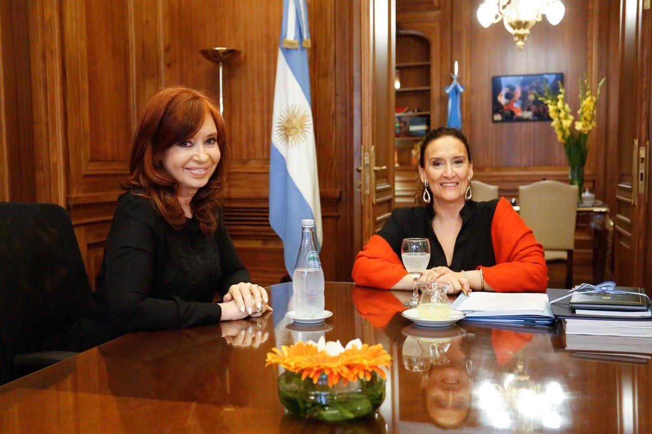 Cristina Kirchner ordenó auditar la gestión de Gabriela Michetti en el Senado
