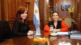Cristina Kirchner se reunió con Gabriela Michetti por la transición en el Senado