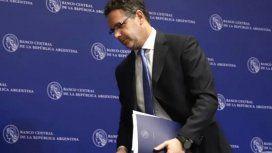 Sandleris dejará el Banco Central sin cumplir ninguna de sus metas